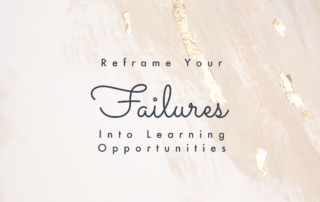 Reframe failures in writing into learning opportunities
